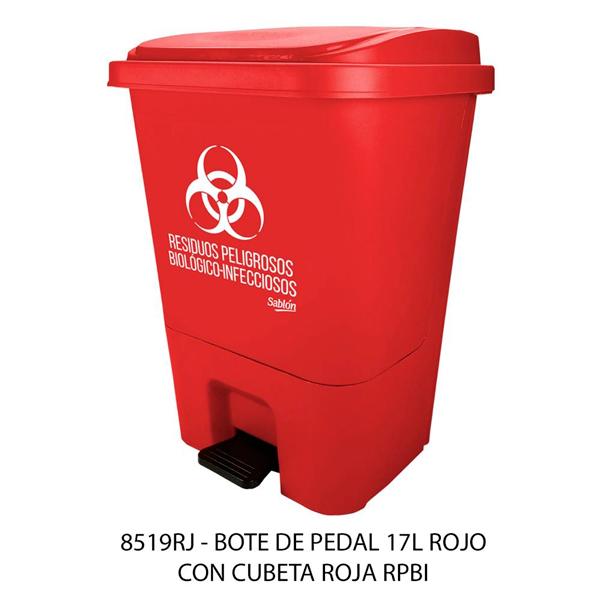 8519rj_cesto_de_pedal_rojo_desechos_organicos_17litros_sablon