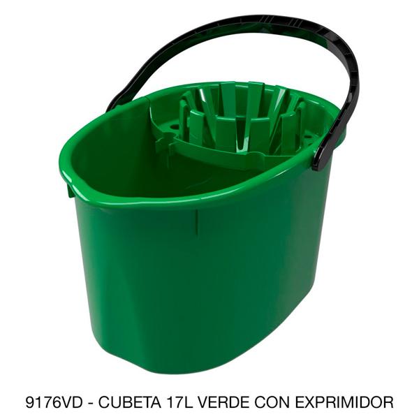 9176vd_cubeta_cexprimidor_de_plastico_verde_17_litros