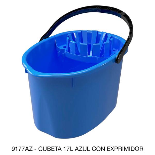 9177az_cubeta_cexprimidor_de_plastico_azul_17_litros